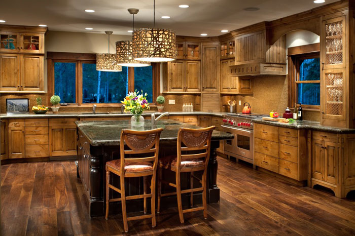 Burrough-Kitchen--North Country Builders
