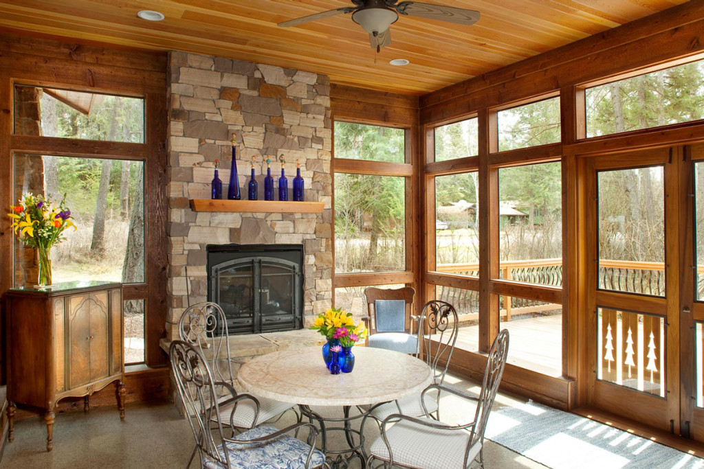 North Country Builders - kitchen patio