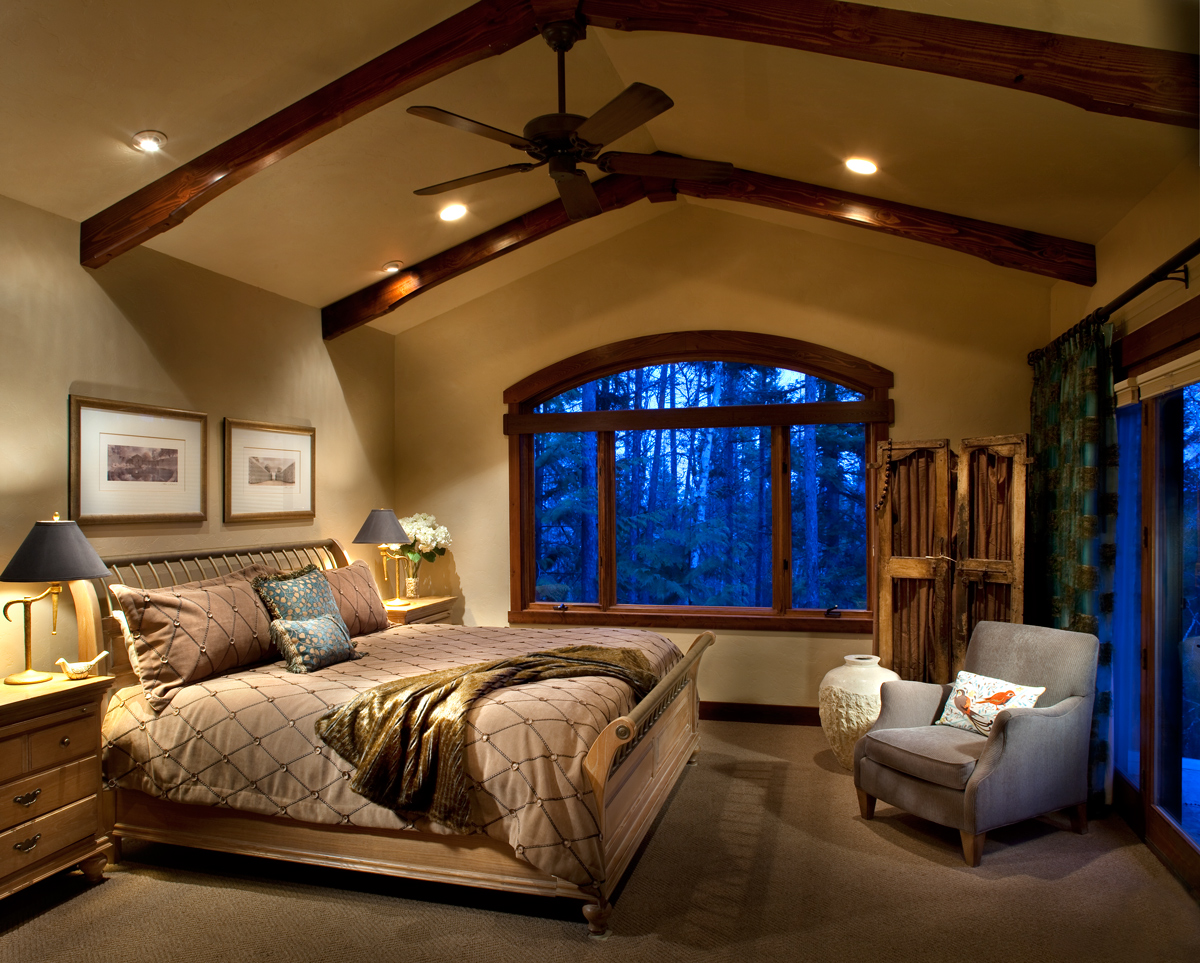 North Country Builders - Master Bedroom