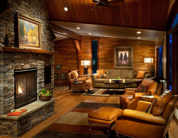Living Room - North Country Builders